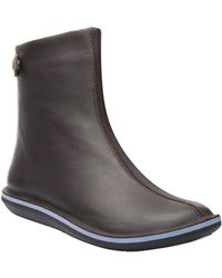 Camper - Beetle Leather Bootie - Lyst