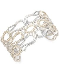 Alexis Bittar - Swarovski Crystal Cuff Bracelet - Lyst