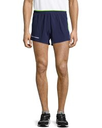 New Balance - Impact Split Shorts - Lyst