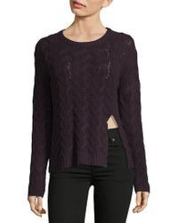 Inhabit | Luxe Cable Cashmere Sweater | Lyst