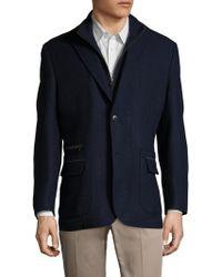 Kroon - Zeppelin Wool Solid Sportcoat - Lyst