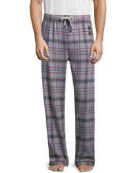 Psycho Bunny - Flannel Cotton Pants - Lyst