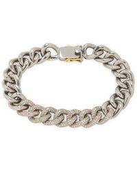 Karma Jewels - 14k Gold & Sterling Silver Link Bracelet - Lyst