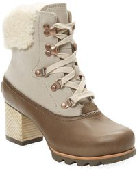 Sorel - Jayne Leather Boot - Lyst