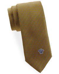 Versace - Italian Silk Pattern Tie - Lyst