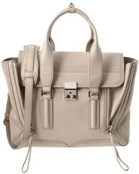 3.1 Phillip Lim - Pashli Medium Leather Satchel - Lyst