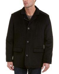 Hart Schaffner Marx - Forrester Wool-blend Coat - Lyst