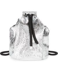 Kendall + Kylie - Meadow Textured Drawstring Backpack - Lyst