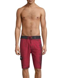Affliction - A-frame Boardshorts - Lyst