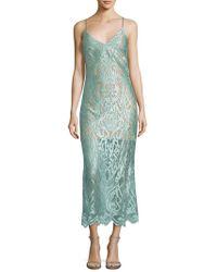 ABS By Allen Schwartz - Lace Dress - Lyst
