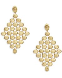Marco Bicego - Siviglia 18k Yellow Gold Earrings - Lyst