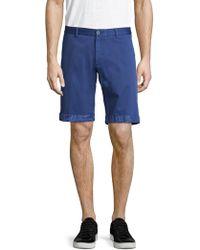 Etro | Cotton Printed Shorts | Lyst