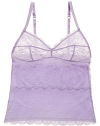 Blush Lingerie - Soft Seduction Lace Camisole - Lyst