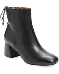 Corso Como - Metropolitan Leather Booties - Lyst