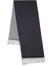 Saks Fifth Avenue - Two-tone Wool Scarf - Lyst