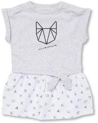 Karl Lagerfeld - Popover T-shirt Dress - Lyst