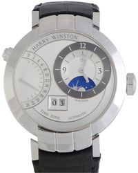 Harry Winston - Men's Premier Excenter Time Zone Automatic Watch - Lyst