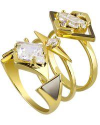 Noir Jewelry - Rg10139-1 - Lyst