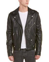 Vince - Leather Moto Jacket - Lyst