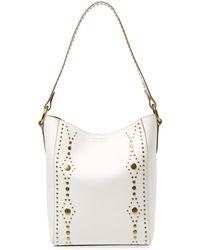 Frye - Harness Stud Leather Bucket Bag - Lyst