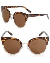 Fantaseyes - ??obin 54mm Round Sunglasses - Lyst