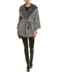 IRO Textured Wool-blend Coat - Black
