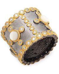 Freida Rothman - Mother-of-pearl Cigar Ring - Lyst