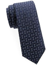 Saks Fifth Avenue - Flower-print Silk Tie - Lyst
