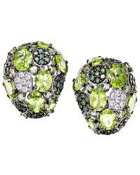 Roberto Coin 18k 2.24 Ct. Tw. Diamond & Peridot Drop Earrings