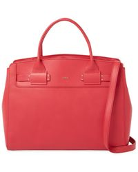 Furla - Lucky L Leather Tote Bag - Lyst