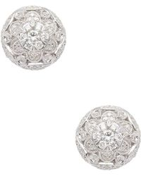 Effy - Bouquet Diamond Cluster Earrings - Lyst