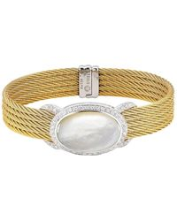 Alor - Mother Of Pearl Bangle - Lyst