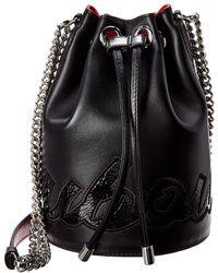 Christian Louboutin - Marie Jane Leather Bucket Bag - Lyst