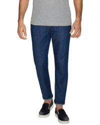 Naked & Famous - Weird Guy Low-rise Tapered Jeans - Lyst