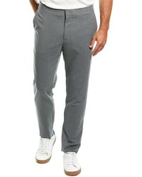 J.Lindeberg J.lindeberg Sasha Ds Quadrat Wool-blend Pant - Gray