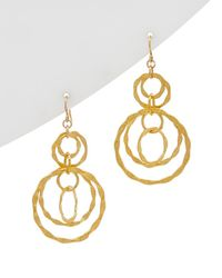 Devon Leigh - 18k Plated & 14k Fill Drop Earrings - Lyst