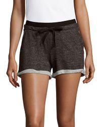 Marc New York - Textured Drawstring Shorts - Lyst