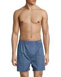 Brooks Brothers - Woven Printed Boxers - Lyst