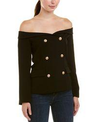 Bardot Off-the-shoulder Blazer