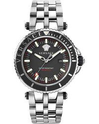 Versace - Men's V-race Diver Watch, 46mm - Lyst