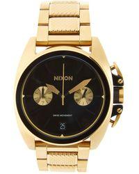 Nixon - Anthem Chrono Stainless Steel Watch, 40mm - Lyst