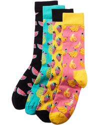 Happy Socks Pack Of 4 Socks