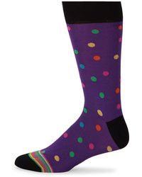 Bugatchi - Geometric Circle Socks - Lyst