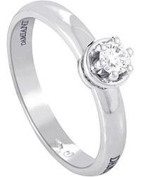 Damiani - 18k 0.19 Ct. Tw. Diamond Ring - Lyst
