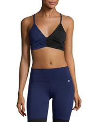 Body Language Sportswear - Scrunchy Sports Bra - Lyst