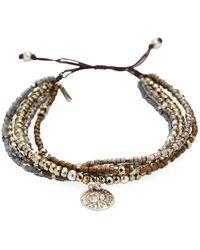 Chan Luu - Semi-precious Stone Charm Bracelet - Lyst