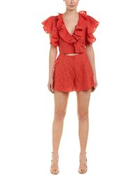 b54d93df273 Cameo C Meo Collective Living Proof Playsuit In Red in Red - Lyst