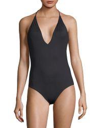 Onia - One-piece Nina Halter Swimsuit - Lyst