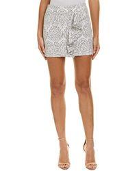 Maje Jacquard Pencil Skirt