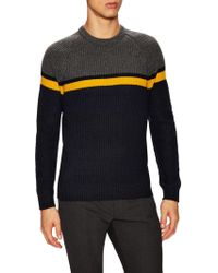 French Connection   Rod Stripe Knit Jumper   Lyst